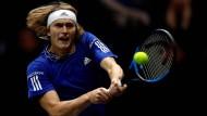 Zverev holt Matchball – Federer verwandelt