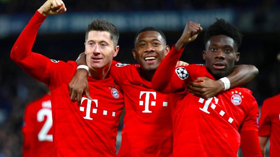 Über den FC Chelsea will der FC Bayern zum Finalturnier nach Lissabon.
