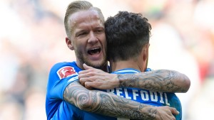 Belfodil erledigt Augsburg fast im Alleingang