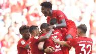 Auf der Sonnenseite des Fußball-Lebens: Die Bayern besiegen Mainz klar.