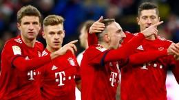 Jetzt blasen die Bayern zur Dortmund-Jagd