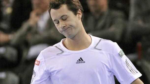 Davis-Cup-Hoffnungen schon fast am Ende