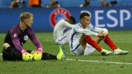 Nach der Niederlage gegen Island: Ein Gemälde, das die Turniergeschichte der Engländer abbildet