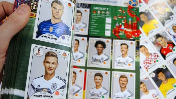 So sieht der deutsche WM-Kader zum Sammeln aus