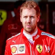 Nicht immer zufrieden mit der vergangenen Saison: Ferrari-Pilot Sebastian Vettel, hier in Abu Dhabi