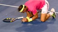 Aufgeben ist keine Option für Nadal