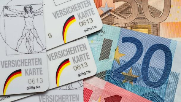 Hunderttausende Beitragszahler in der Schuldenfalle