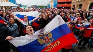Russland ist doch ein Fußball-Land
