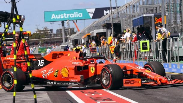 Formel-1-Rennen in Australien abgesagt