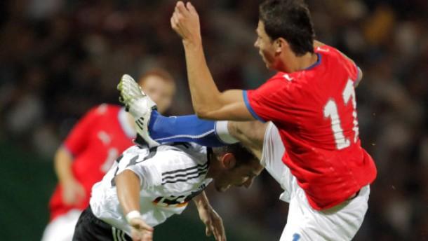 U 21 verliert Härtetest gegen Tschechien 1:2