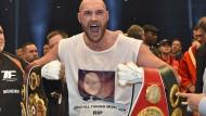 Im November 2015 besiegte Tyson Fury überraschend Wladimir Klitschko.