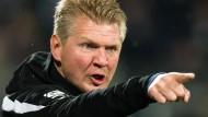 Paderborns Trainer Stefan Effenberg