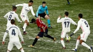 Zidane redet sich in Rage nach Spiel von Real Madrid
