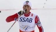 Northug führt Norwegens Staffel zum Sieg