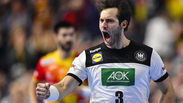 Deutschland spielt sich in Stimmung fürs Halbfinale