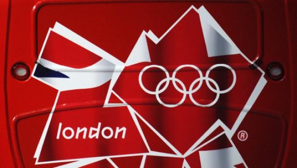 Boris' Kampf mit der olympischen Fahne