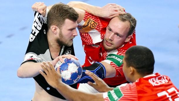 Hauen und Stechen im deutschen Handball
