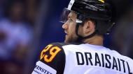 Auch im Nationalteam eine der Stützen: Eishockey-Profi Leon Draisaitl