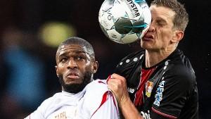 Leverkusen verliert zwei Spieler und das Spiel