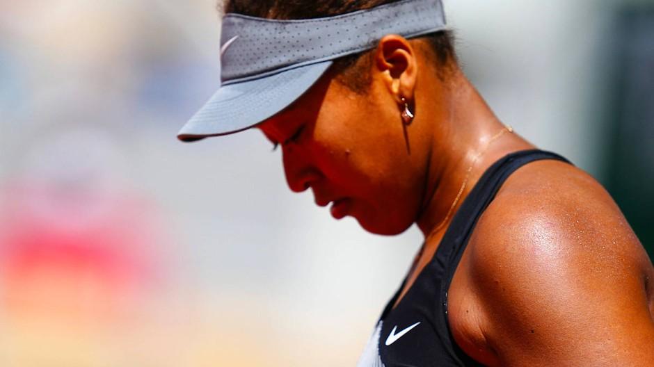 Systemsprengerin: Naomi Osaka kritisiert die verletzenden Fragen von Journalisten bei Pressekonferenzen. Bei den French Open ist sie mittlerweile ausgestiegen.