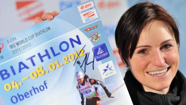 Zeichen der Zeit: Andrea Henkel beglückt mit einer einfachen Zahl das deutsche Biathlon