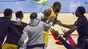 LeBron James und eine ziemlich verrückte Wette