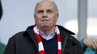 Derzeit alles andere als zufrieden: FCB-Präsident Uli Hoeneß