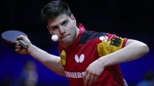Ovtcharov scheitert, erste Medaille dennoch sicher