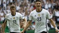 Leichtes Spiel für die deutsche Mannschaft