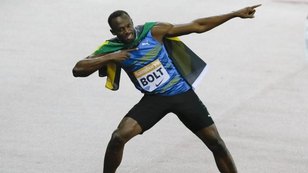 Usain Bolt sprintet zurück in die Weltspitze