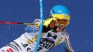 Im Slalom in Aspen reicht es für Felix Neureuther nochmal zu Platz zwei.