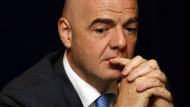 Kann sich nicht vom Druck befreien: Fifa-Präsident Gianni Infantino.