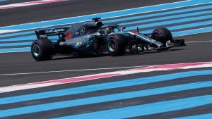 Hamilton in letzter Sekunde auf Pole Position