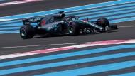 Keiner ist schneller in Le Castellet: Lewis Hamilton.