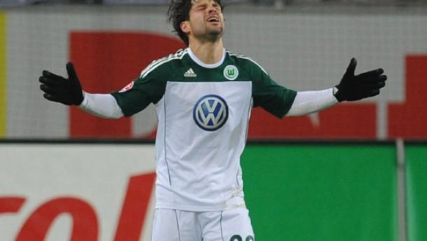 Fehlschütze Diego gewinnt das Spiel für Wolfsburg