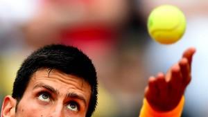 Djokovic im Finale gegen Federer