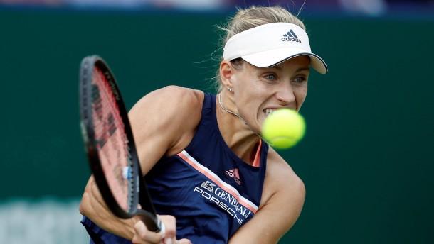 Kerber mit Halbfinalniederlage nach Wimbledon