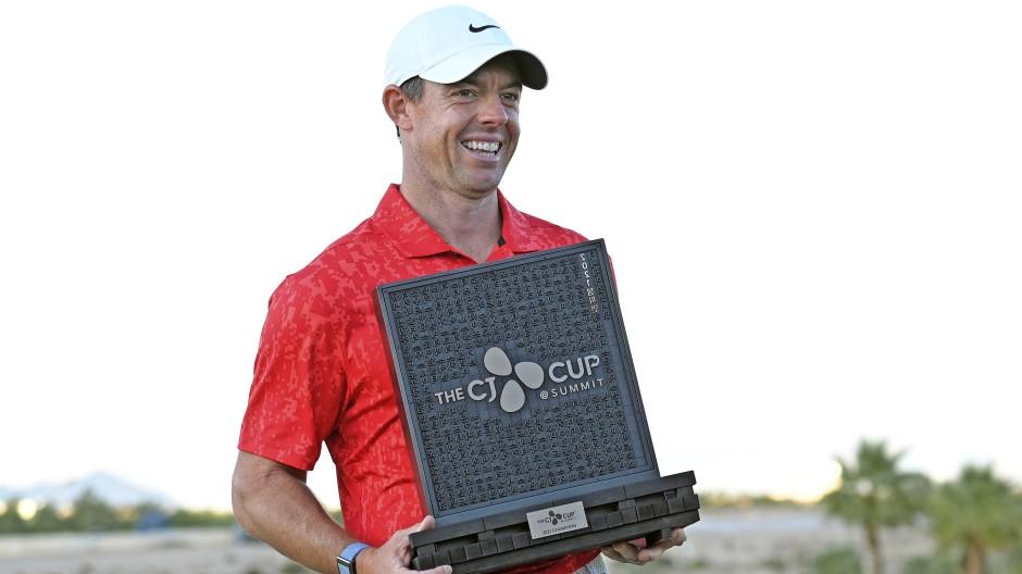 Der nächste Pokal: Rory McIlroy