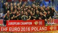 Deutschland ist auf dem Handball-Gipfel
