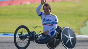 Schnell auch auf drei Rädern: Alessandro Zanardi