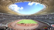 So soll das Olympiastadion in Tokio 2020 aussehen.