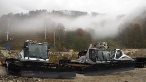 Sotschi im Herbst 2012: Hier sollen in 15 Monaten olympische Winterspiele stattfinden