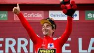 Bislang erfolgreich: Sichert sich Primoz Roglic nun auch den Gesamtsieg bei der Vuelta?