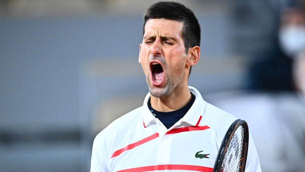 Djokovic und ein Tornado von Gefühlen