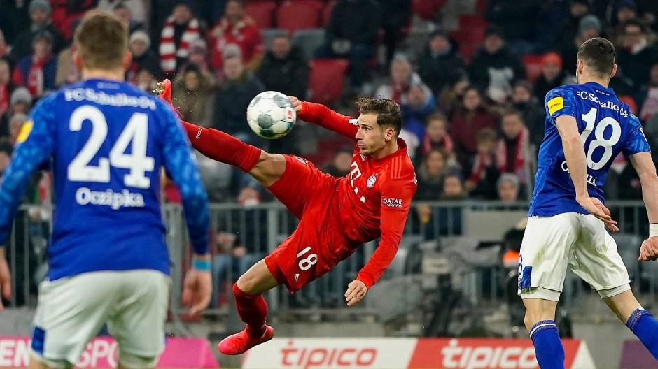 Spektakulärer Auftakt in die Saison: Bayern gegen Schalke.