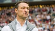 Bayern-Trainer Niko Kovac ärgert sich über frühe Trainer-Diskussionen.