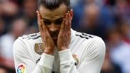 Au backe! Bei Gareth Bale und Real Madrid läuft es alles andere als gut derzeit.
