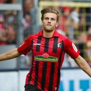 Lucas Höler löst die Torbremse mit seinem Treffer zum 1:0 für Freiburg