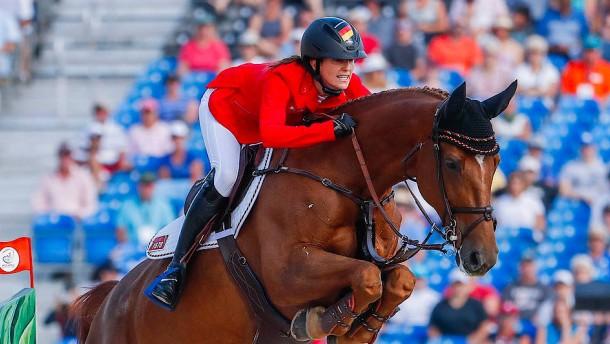 Simone Blum und Alice springen zum Weltmeistertitel