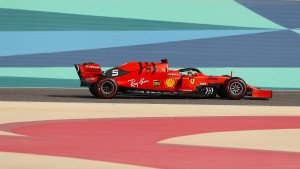 Vettel ist auch auf Platz zwei glücklich